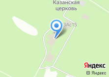 Компания «Узкое» на карте