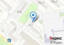 Компания «Общественная наблюдательная комиссия г. Москвы» на карте