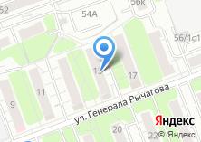 Компания «Мастерская по ремонту одежды на ул. Генерала Рычагова» на карте