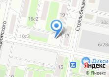 Компания «Хинкальный Дворик» на карте
