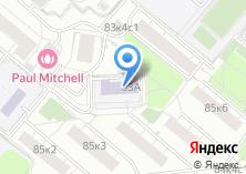 Компания «Гимназия №1536» на карте