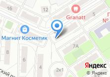 Компания «Магазин канцелярских товаров на ул. Новомихалковский 3-й проезд» на карте