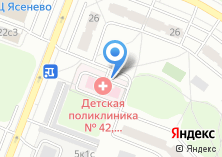 Компания «Детская поликлиника №111» на карте