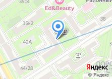 Компания «Фили-Давыдково» на карте