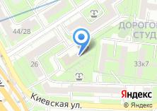 Компания «Западное окружное управление образования Департамента образования г. Москвы» на карте