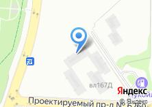 Компания «Аэронавт» на карте
