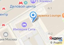 Компания «Москва-Сити» на карте