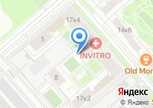Компания «ТЕХМЕТАЛЛ» на карте