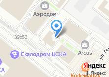 Компания «Гарена» на карте