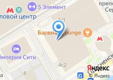 Компания «Строящееся административное здание по ул. Краснопресненская Набережная» на карте