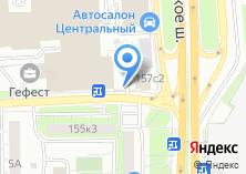 Компания «МетроСервис» на карте