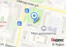Компания «Магазин промтоваров на Заводской» на карте