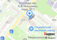 Компания «Бизнес-Баланс» на карте
