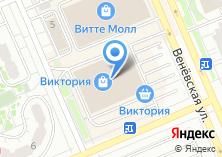 Компания «O`stin» на карте