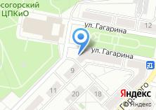 Компания «Центральное Тульское бюро недвижимости» на карте