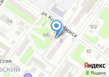 Компания «Велес» на карте