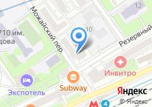 Компания «ИпоТек Банк» на карте