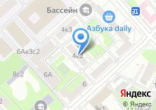 Компания «Парикмахерская эконом-класса на Хорошёвском 1-ом проезде» на карте