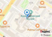Компания «Ньокки» на карте