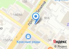 Компания «Tez tour» на карте