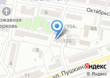Компания «Экспертиза ПБиС» на карте