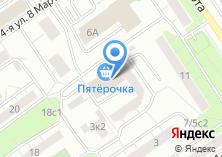 Компания «Модная Пышка» на карте