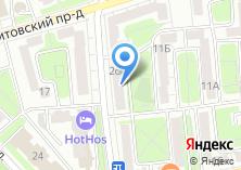 Компания «Почтовое отделение №123100» на карте