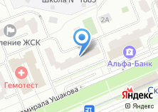 Компания «МОССТРОЙЭКОНОМБАНК» на карте