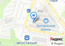 Компания «Битцевский» на карте