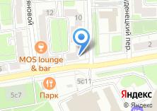 Компания «Мособлстройреставрация» на карте