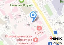Компания «Храм Мученика Вонифатия (Областная психиатрическая больница)» на карте