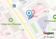 Компания «Юконис» на карте