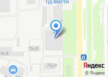 Компания «Фабрика Тепла» на карте