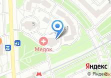Компания «МедОК» на карте
