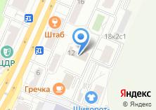 Компания «Шахматная федерация г. Москвы» на карте