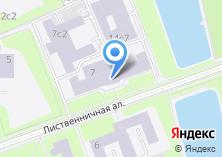 Компания «Центр полиграфических услуг на Лиственничной аллее» на карте