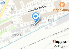 Компания «Антикошка   Киевская» на карте