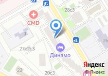 Компания «Центромакросервис» на карте