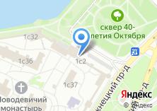 Компания «Храм Спаса Преображения в Новодевичьем Монастыре» на карте