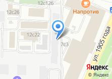 Компания «ФронтАрхитектура» на карте