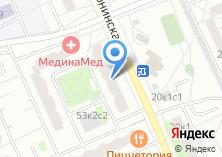 Компания «Магазин швейной фурнитуры на Дубнинской» на карте