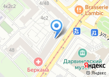 Компания «Berkana» на карте