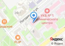 Компания «Клиника госпитальной терапии имени А.А.Остроумова» на карте