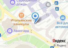 Компания «Мособлгарант» на карте