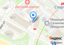 Компания «Столовая на ул. Усачёва» на карте