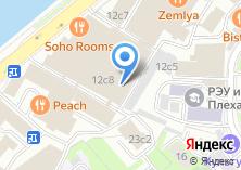 """Компания «""""Жизнь Пи""""» на карте"""