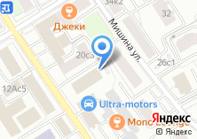Компания «Юнистрим Деньги» на карте