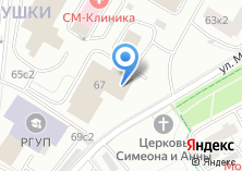 Компания «Главный информационно-аналитический центр МВД РФ» на карте