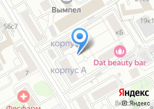 Компания «Комтехпринт» на карте