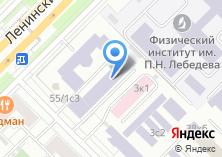 Компания «Электронная Москва» на карте
